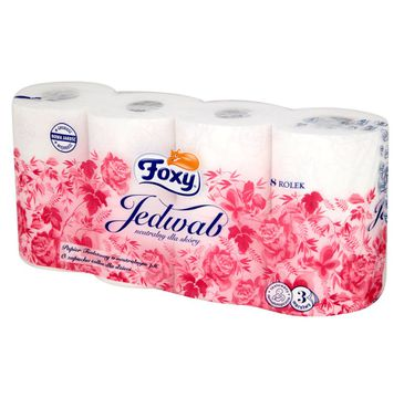 Foxy Papier toaletowy Jedwab (8 rolek)