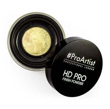 Freedom HD Pro Artist Finish Powder Banana - Loose Puder sypki bananowy do twarzy 4 g