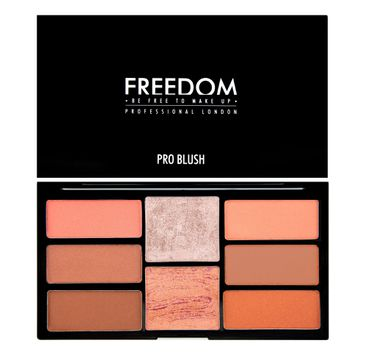 Freedom Pro Blush Palette Peach and Baked - Zestaw do konturowania 15 g