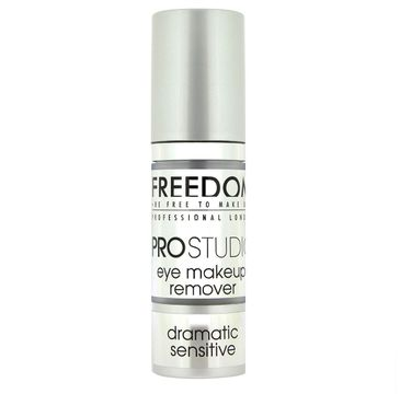Freedom Pro Studio Dramatic Sensitive Eye Makeup Remover Żel do demakijażu oczu 30 ml