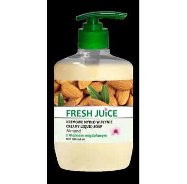 Fresh Juice kremowe mydło w płynie Almond z olejkiem migdałowym 460 ml