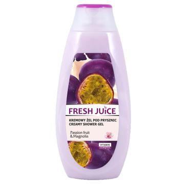 Fresh Juice Kremowy Żel pod prysznic Passion Fruit & Magnolia  400ml
