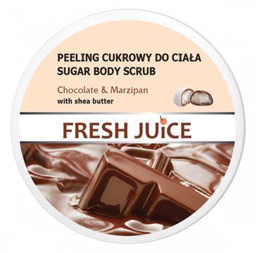 Fresh Juice – Peeling cukrowy do ciała Chocolate & Marzipan (225 ml)