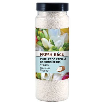 Fresh Juice – perełki do kąpieli Freesia & Coconut (450 g)
