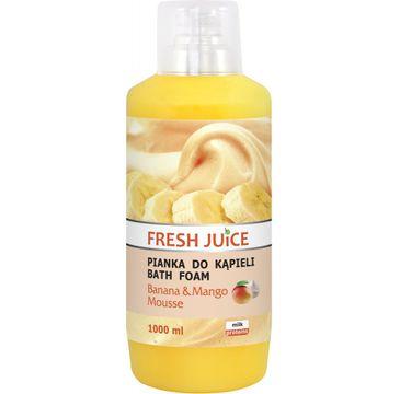 Fresh Juice Pianka do kąpieli Banana & Mango 1000 ml