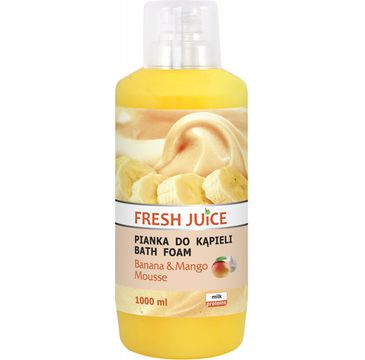 Fresh Juice Pianka do kąpieli Banana & Mango 1000 ml