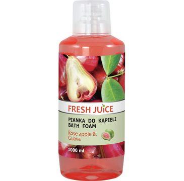 Fresh Juice Pianka do kąpieli Rose Apple & Guava 1000 ml