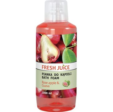 Fresh Juice Pianka do kąpieli Rose Apple & Guava 1000 ml