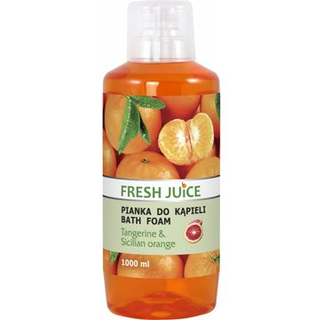 Fresh Juice Pianka do kąpieli Tangerine & Sicilian Orange 1000 ml