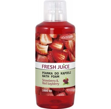 Fresh Juice – Pianka do kąpieli Truskawka & Czerwona borówka (1000 ml)