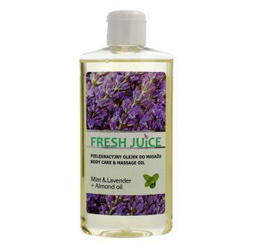 Fresh Juice pielęgnacyjny olejek do masażu Mint & Lavender+  Almond Oil 150 ml