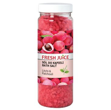 Fresh Juice Sól do kąpieli Litchi & Patchouli 700 g
