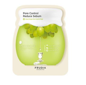 Frudia Pore Control Sheet Mask oczyszczająco-odświeżająca maseczka w płachcie Green Grape 27g