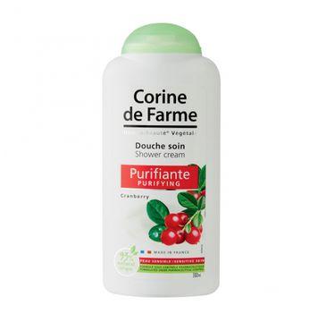 Corine De Farme –  Żel pod prysznic oczyszczający Żurawina (300 ml)