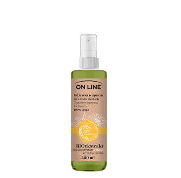 On Line 鈥� Od偶ywka spray Arnika & Zielona Herbata (200 ml)