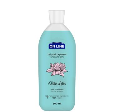 On Line – Żel pod prysznic Water Lotus (500 ml)
