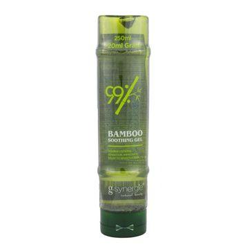 G-Synergie Bamboo 99% Soothing Gel bambusowy żel do ciała i włosów 270ml