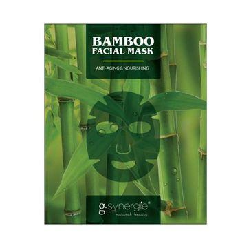 G-Synergie Bamboo Facial Mask maska do twarzy z ekstraktem z bambusa 7-dniowa kuracja przeciwstarzeniowo-odżywiająca 7x25ml