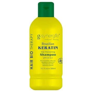 G-Synergie Brazilian Keratin Hair Shampoo szampon zwiększający objętość włosów 300ml