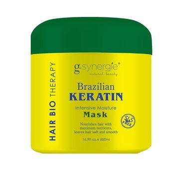 G-Synergie Brazilian Keratin Mask Intensive Moisture maska intensywnie nawilżająca do włosów 500ml