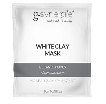 G-Synergie Korean Beauty Secret White Clay Mask oczyszczająca maska z białą glinką 10ml