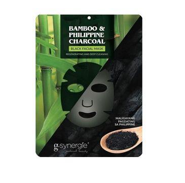 G-Synergie Regenerating And Moisture Black Facial Mask Bambus & Filipiński Węgiel Drzewny 25ml