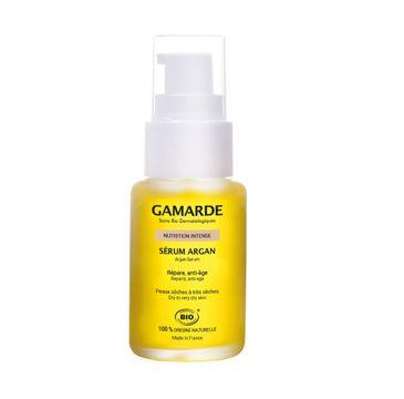 Gamarde Nutrition Intense Argan Serum przeciwzmarszczkowe serum arganowe do skóry suchej i bardzo suchej (30 ml)