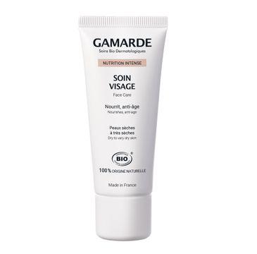 Gamarde Nutrition Intense Face Care odżywczo-ochronny krem do twarzy dla skóry suchej (40 ml)