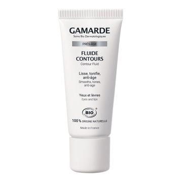 Gamarde Pres-Age Contour Fluid przeciwzmarszczkowy fluid ujędrniający kontur oczu i ust (20 g)