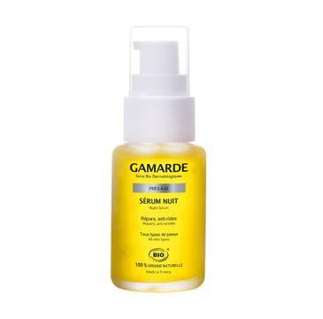 Gamarde Pres-Age Night Serum przeciwzmarszczkowe serum na noc (30 ml)