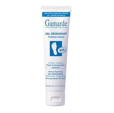 Gamarde Sante Gel Deodorant dezodorujący żel do stóp (100 g)
