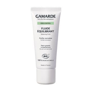 Gamarde Sebo-Control Balancing Fluid matujący fluid do twarzy (40 g)