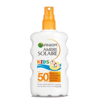 Garnier – Ambre Solaire Kids SPF50 spray ochronny dla dzieci (200 ml)