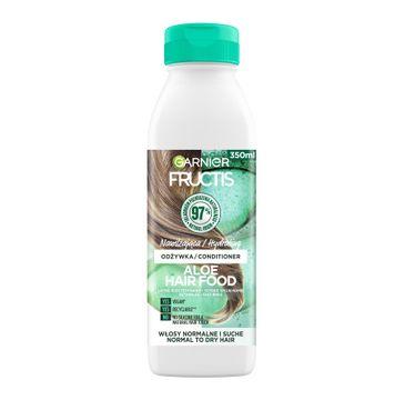 Fructis Hair Food Aloe Odżywka nawilżająca do włosów normalnych i suchych (350 ml)