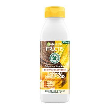 Fructis Hair Food Banana Odżywka odżywcza do włosów bardzo suchych (350 ml)