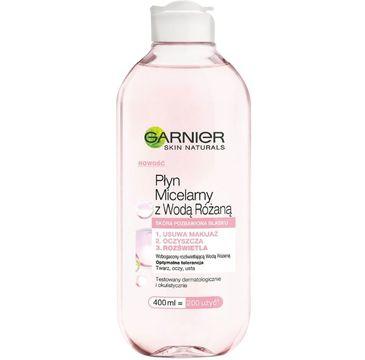 Garnier – Skin Naturals płyn micelarny z wodą różaną (400 ml)