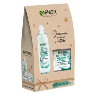 Garnier Skin Naturals Zestaw Aloe Płyn Micelarny+ Lekki Żel Nawilżający