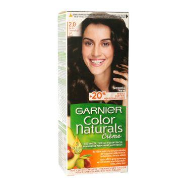 Garnier – Color Naturals Krem koloryzujący nr 2.0 Bardzo Ciemny Brąz (1 szt.)