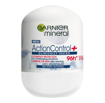 Garnier Action Control+ Clinically 96h antyperspirant w roll-on 50 ml