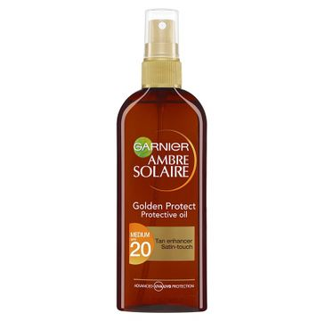 Garnier Ambre Solaire Golden Protect olejek do opalania w sprayu SPF20 150ml
