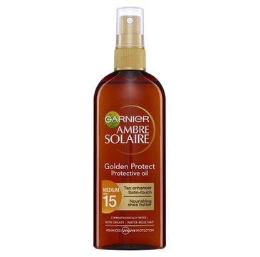 Garnier Ambre Solaire ochronny olejek do opalania SPF15 150ml
