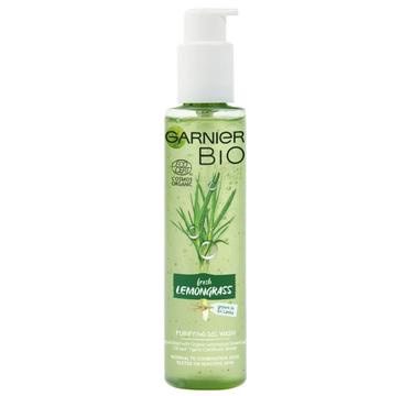 Garnier BIO 呕el do mycia twarzy detoksykuj膮cy Fresh Lemongrass (150 ml)