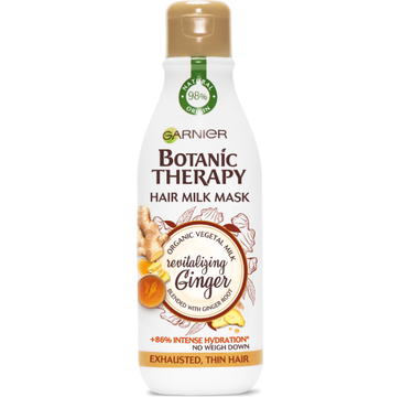 Garnier Botanic Therapy mleczna maska rewitalizująca Imbir & Miód (250 ml)
