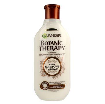 Garnier Botanic Therapy Mleko Kokosowe & Makadamia szampon do włosów suchych i bez spężystości 400 ml