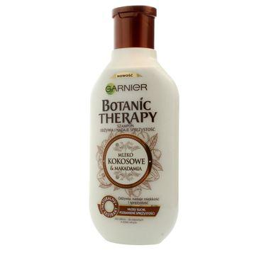 Garnier Botanic Therapy Mleko Kokosowe & Makadamia szampon do włosów suchych i bez spężystości 250 ml