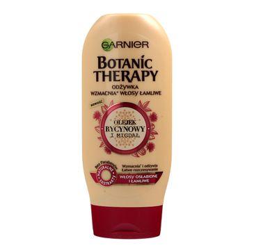 Garnier Botanic Therapy odżywka do włosów wzmacniająca olej rycynowy migdał 200 ml