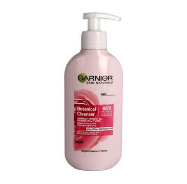 Garnier Botanical Cleanser Soothing Creamy Wash – łagodzący kremowy żel Woda Różana (200 ml)