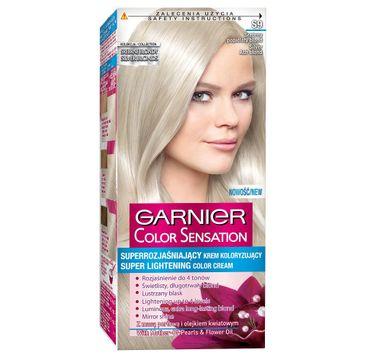 Garnier Color Sensation krem do każdego typu włosów koloryzujący S 9 srebrny popielaty blond 110 ml