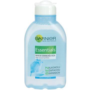 Garnier Essentials Płyn do demakijażu oczu do cery wrażliwej z prowitaminą B5 125 ml