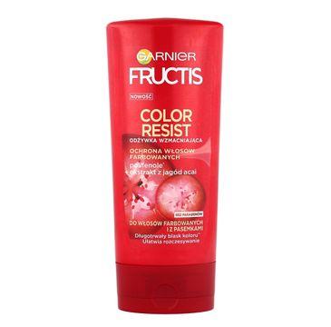 Garnier Fructis Color Resist odżywka do włosów farbowanych ochraniająca kolor 200 ml